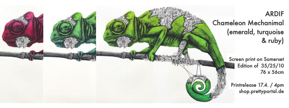 ARDIF - Chameleon Mechanimal