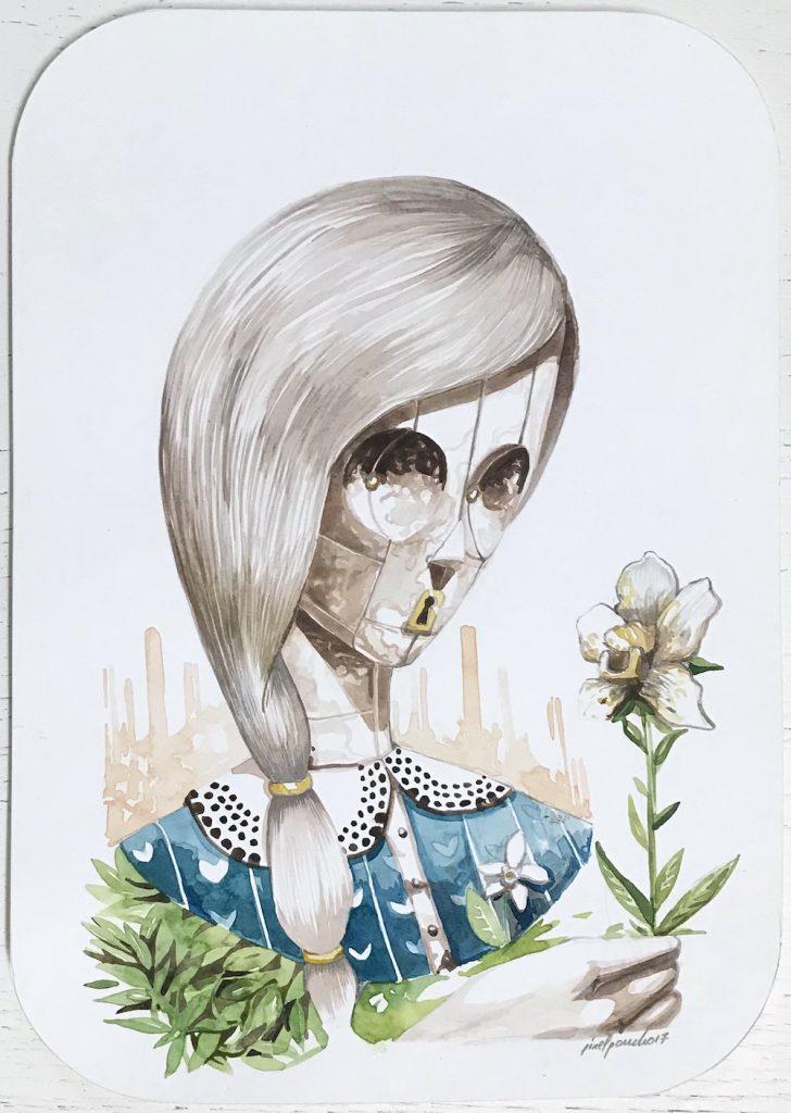 Pixelpancho - Orchidea solitaria - Pretty Portal
