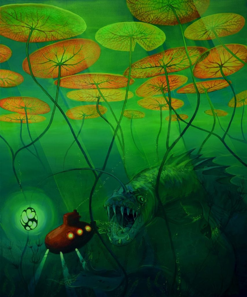 Natalia Rak - Juliusz Verne's dream - Pretty Portal