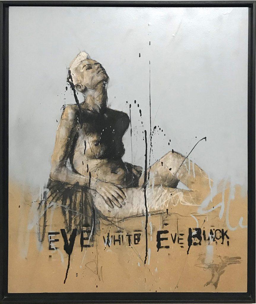 "Guy Denning ""Eve white – Eve black"" - Pretty Portal"
