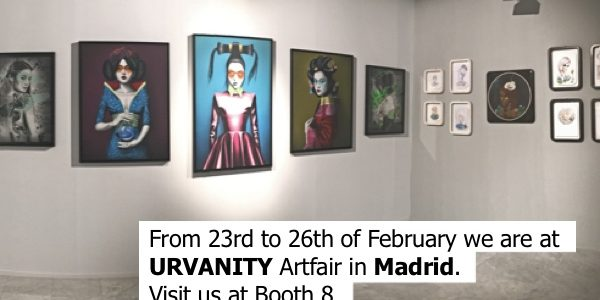 URVANITY Artfair in Madrid, tesaser - Pretty Portal