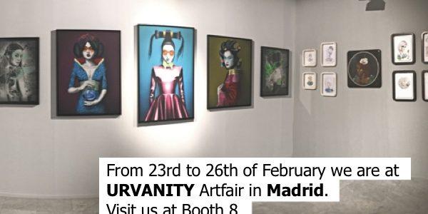 URVANITY Artfair in Madrid, tesaser - Pretty Portal