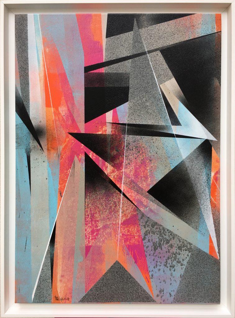 Theo Lopez - Needle Point, Urban Abstract - Pretty Portal