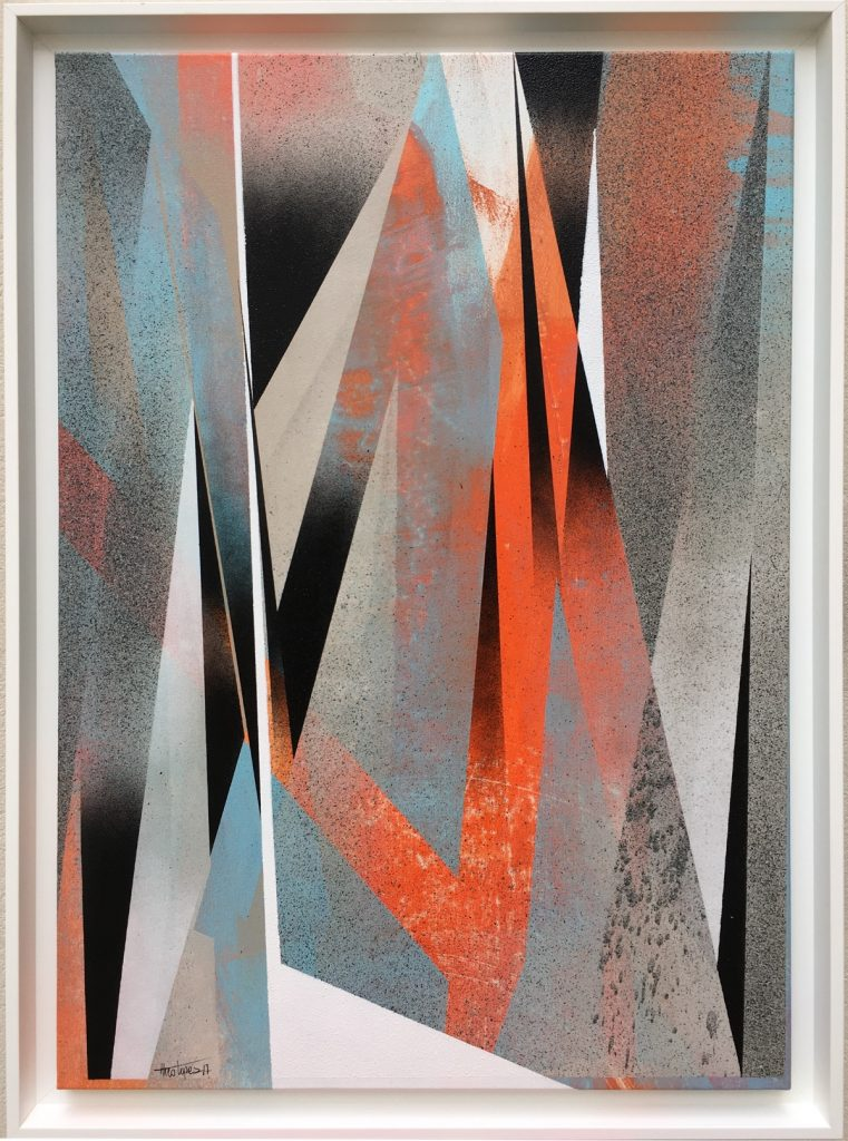 Theo Lopez - Needle Point - Spey, Urban Abstract - Pretty Portal