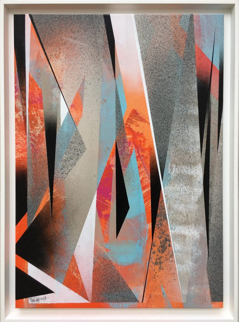 Theo Lopez - Trailing Point, Urban Abstract - Pretty Portal