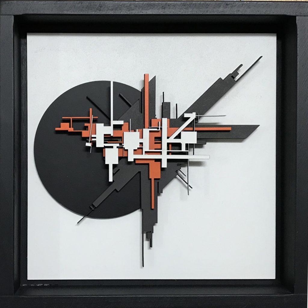 """Marc C Woehr """"O.T."""" Woodcut Unika - Pretty Portal"""