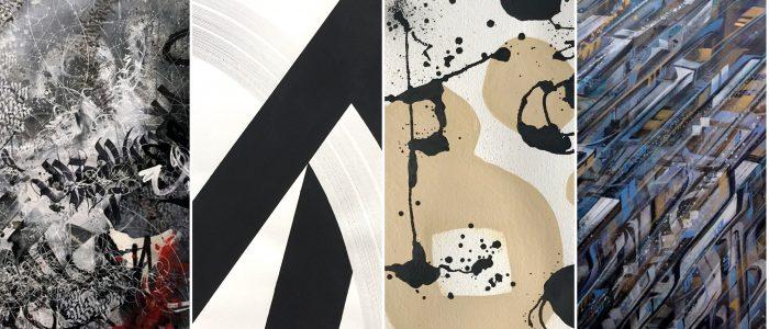 Calligraffiti teaser - Gruppenausstellung ODD MARKS - Pretty Portal