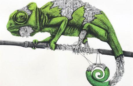 Ardif Chamelion emerald - Pretty Portal