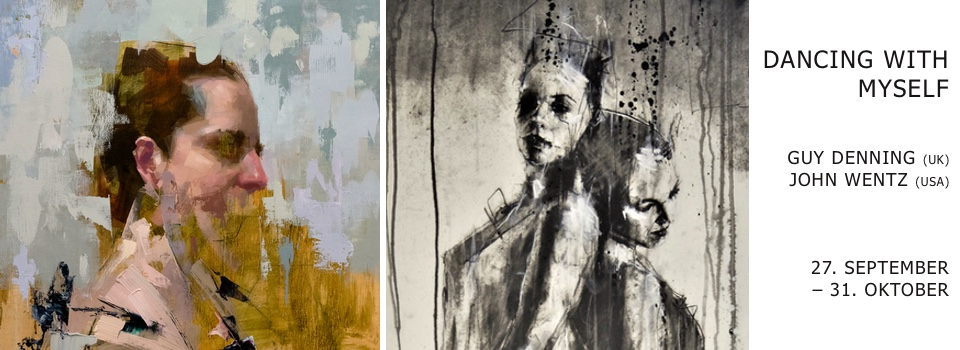 Guy Denning - John Wentz - Dancing with myself show at Pretty Portal
